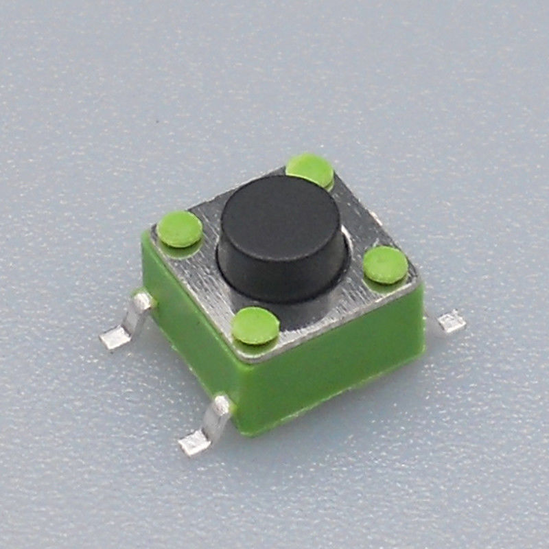Reflow Solderable Momentary Push Button Switch Ultra Thin Low Profile