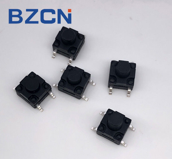 8X8 Mm Waterproof Silent Tactile Switch Momentary Surface Mount Low Profile